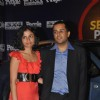 Chetan Bhagat with his wife at PEOPLE and Maruti Suzuki SX4 hosted �The Sexiest Party 2010�