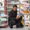 Rahul shopping a food stuff
