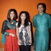 Sharbani, Chetan and Kishwar at Screening of movie ''332 Mumbai To India'' at star house