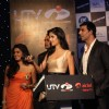 Akshay and Katrina at Launch of the 'Tees Maar Khan' Official Game at Novotel, Juhu, Mumbai