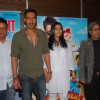 Kajol and Ajay Devgan at Toonpur Ka Superhero music launch at Novotel. .