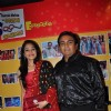 Disha Wakani & Dilip Joshi at 500 episodes celebration party of TMKOC