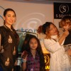Karishma Kapoor launches Square mobile amidst chaos at Time N Again. .