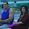 Farah Khan in the Bigg Boss house