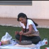 Shweta Tiwari doing task in Bigg Boss 4 house