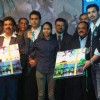 John launches Mumbai marathon anthem at Trident. .