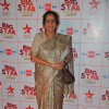 Usha Nadkarni at the Big Star Entertainment Awards held at Bhavans College Grounds in Andheri, Mumba