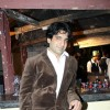 Eijaz Khan at B'day party of fashion choreographer Shakir Shaikh at Mud Island,Mumbai