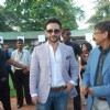 Saif Ali Khan at Mid-day race at Mahalaxmi Race Course. .