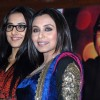 Rani Mukherjee and Vidya Balan pose for a photo shoot for their upcoming film