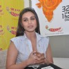 Rani Mukherjee arrive to promote the Hindi film � No One Killed Jessica� at a 98.3 FM Radio station