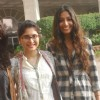 Kiran Rao,Monica Dogra & Kriti Malhotra during the Promotion of Film Dhobi Ghat in Mumbai