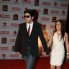 Zayed Khan with his wife at 17th Annual Star Screen Awards 2011