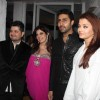 Abhishek and Aishwarya Rai Bachchan at Dabboo Ratnani Calendar Launch at Olive, Bandra, Mumbai