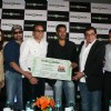 Sunny Deol and Dharmendra launched Ajay Devgan's new online venture ticketplease.com at Hotel JW Marriott in Juhu, Mumbai
