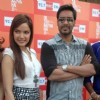 Shazahn Padamsee and Ajay Devgan at Dil Toh Baccha Hai Ji Kite Flying Event