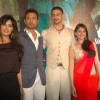 Chitrangda, Aditi Rao, Arunoday and Irrfan Khan at the Yeh Saali Zindagi music launch at Marimba Lou