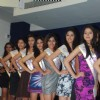 Models at the Indian Princess nomination round at Atharva College. .
