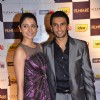 Anushka Sharma and Ranveer Singh at the Filmfare nominations bash at JW Marriott. .