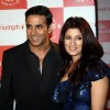 Akshay Kumar with wife Twinkle Khanna at Triumph Lingerie Fashion Show 2011