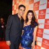 Akshay Kumar and Twinkle Khanna at The Triumph Fashion Show. .