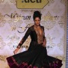Sameera Reddy walks the ramp for Shabana Azmi's charity show 'Mizwan'