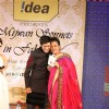 Manish Malhotra with Shabana Azmi's charity show 'Mizwan Sonnets in fabric'