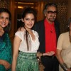 Shazahn Padamsee and Dolly Thakore in Shabana Azmi's charity show 'Mizwan Sonnets in fabric'