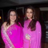Aishwarya Rai and Shrishti Arya in Sameer Soni and Neelam's wedding reception