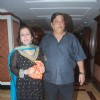 David Dhawan with his wife in Sameer Soni and Neelam's wedding reception