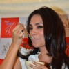Lara Dutta promotes Kellogs Special K and her yoga DVD at Sohum spa.