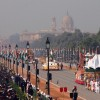 The Republic Day parade at Rajpath in New Delhi on Wed Jan 2011. .