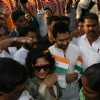 Aamir and Kiran celebrate Republic Day at Dhobi Ghat in Mumbai