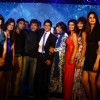 Shah Rukh Khan along with the participants at 'Zor Ka Jhatka' bash at JW Marriott Hotel in Mumbai