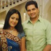 Still image of Natik and Akshara