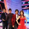 Chak Dhoom Dhoom Team Challenge Judges Javed Jaffrey, Urmila, Terrence Lewis with host Pravesh Rana
