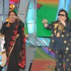Bappi Lahiri and Usha Uthup at Mirchi Music Awards 2011 at BKC