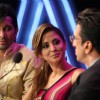 Urmila, Terrence and Javed as a judge on Chak Dhoom Dhoom 2 - Team Challenge