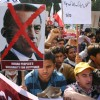 Indian People's Solidarity March for Egyptian Peoples at Egyptian Embassy in New Delh on Wed 2 Feb 2011. .