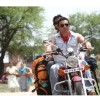 Sohail and Vatsal sitting on a bike | Heroes Photo Gallery