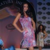 Models on the ramp at Signature Derby press meet with fashion show at the Mahalaxmi Race Course