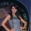 Aanchal Kumar at the Signature Derby press meet with fashion show at the Mahalaxmi Race Course