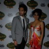 Geeta Basra with Siddharth Mallya at Signature Derby fashion show at the Mahalaxmi Race Course