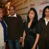 "Naseeruddin and Ashutosh at Dev Anand's old classic film ""Hum Dono"" premiere at Cinemax Versova"
