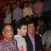 "Shatrughan Sinha at Dev Anand's old classic film ""Hum Dono"" premiere at Cinemax Versova"