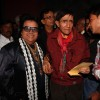 "Bappi Lahiri at Dev Anand's old classic film ""Hum Dono"" premiere at Cinemax Versova"