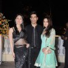 Kareena Kapoor, Manish Malhotra and Preity Zinta at Imran Khan and Avantika Malik's Wedding Reception Party at Taj Land's End. .
