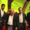 Akshay Kumar, Arbaaz Khan and Ramesh Sippy at Stardust Awards-2011