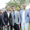 Abhay Deol and Siddharth Mallya at Signature Derby at Mahalaxmi. .