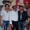 Bobby Deol, Dharmendra and Sunny Deol celebrate Yamala Pagla Deewana success party at Novotel. .